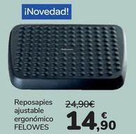 Oferta de Reposapies ajustable ergónomico FELOWES  por 14,9€