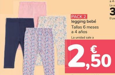 Oferta de Legging bebé  por 2,5€