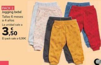 Oferta de Jogging bebé por 3,5€