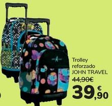 Oferta de Trolley reforzado JOHN TRAVEL  por 39,9€