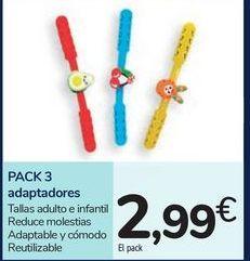 Oferta de PACK 3 adaptadores por 2,99€