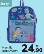 Oferta de Mochila Rick&Morty  por 24,9€