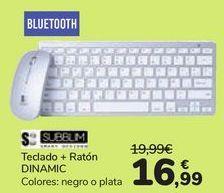 Oferta de Teclado + Rat贸n DINAMIC  por 16,99鈧�