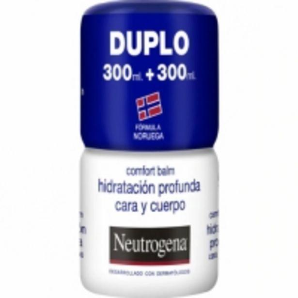 Oferta de Neutrogena Bálsamo Corporal Hidratación Profunda Cara y Cuerpo Duplo por 16,95€