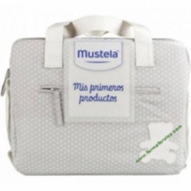 Oferta de Bolso Mustela Mis Primeros Productos Gris por 45,95€