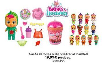 Oferta de Casita de frutas tutti frutti (varios modelos) por 19,99€