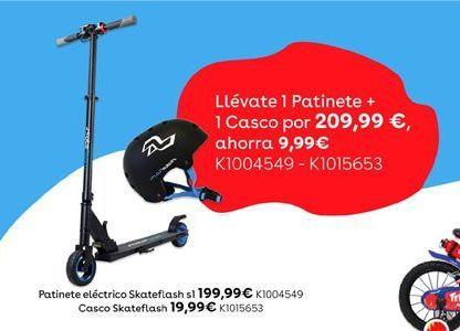 Oferta de Patinete eléctrico Skateflash s1 por 199,99€