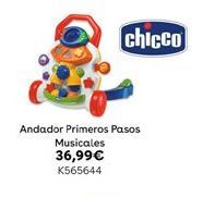 Oferta de Andador Primeros Pasos Musicales por 36,99€