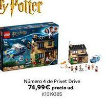 Oferta de Número 4 de Privet Drive por 74,99€