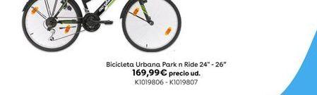 """Oferta de Bicicleta Urbana Park n Ride 24"""" por 169,99€"""
