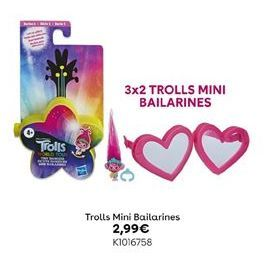 Oferta de Trolls Mini Bailarines por 2,99€