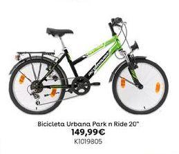"""Oferta de Bicicleta Urbana Park n RIde 20"""" por 149,99€"""