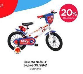 """Oferta de Bicicleta Neón 14"""" por 79,99€"""