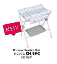 Oferta de Bañera Flexible Gris por 134,99€