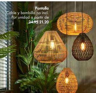 Oferta de Pantalla de lámpara por 21,2€