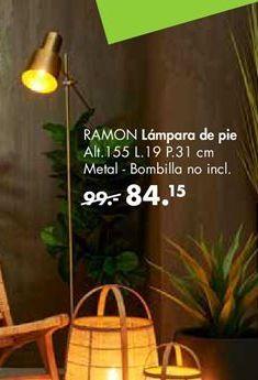 Oferta de Lámpara de pie por 84,15€