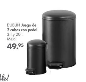 Oferta de Cubo con pedal por 49,95€