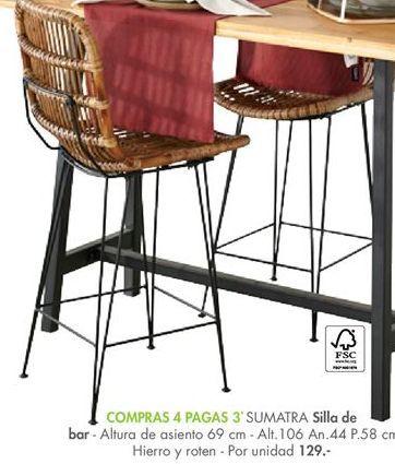 Oferta de Silla de bar por 129€