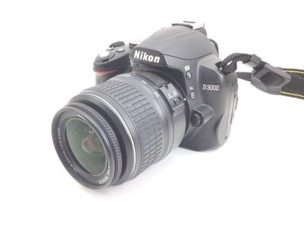 Oferta de Camara digital reflex nikon d3000+ed 18-55mm 1:3.5-5.6g ii af-s dx nikkor por 114,95€