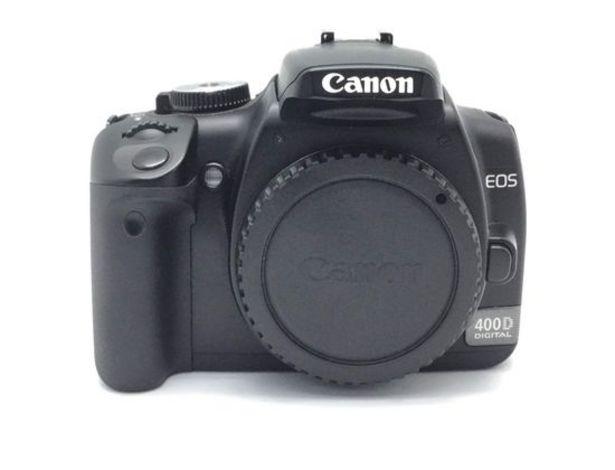Oferta de Camara digital reflex canon eos 400d por 98,95€