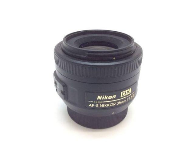 Oferta de Objetivo nikon nikon 35mm f/1.8g af-s dx nikkor por 107,95€