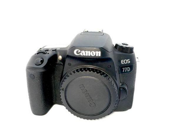 Oferta de Camara digital reflex canon eos 77d por 408,95€