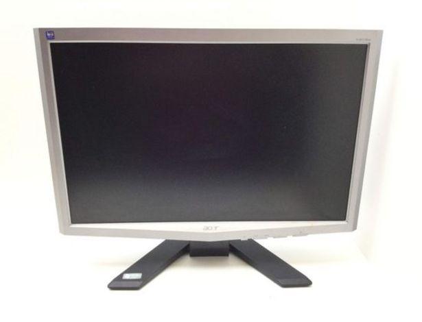 Oferta de Monitor tft acer x203w 20 lcd por 22,95€