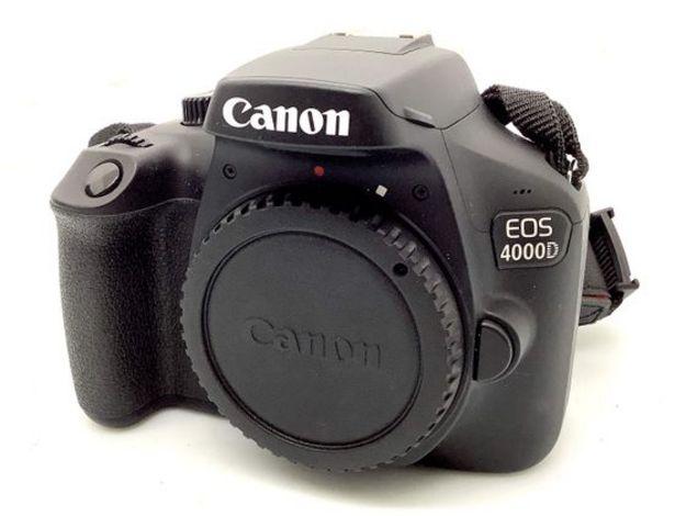 Oferta de Camara digital reflex canon eos 4000d por 168,95€
