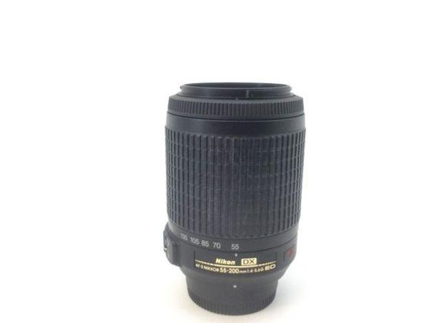 Oferta de Objetivo nikon nikon 55-200mm f/4-5.6g if-ed af-s vr dx zoom-nikkor por 73,95€
