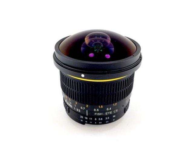 Oferta de Objetivo samyang samyang 8mm f/3.5 fish-eye cs vg10 por 128,95€