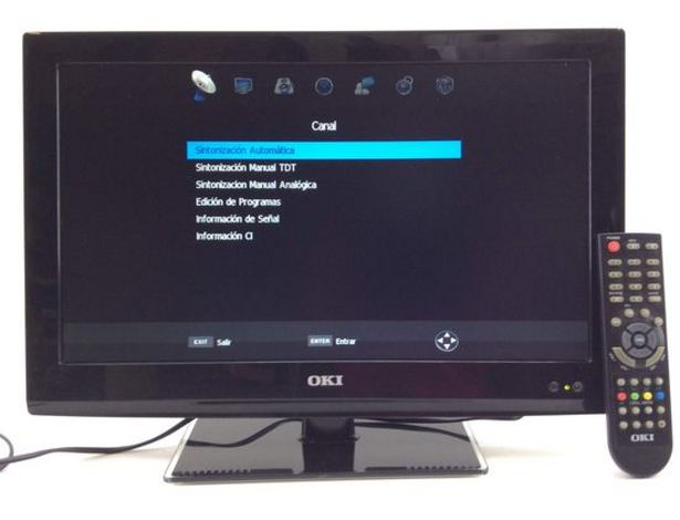 Oferta de Televisor led oki b19e-led1i por 83,94€