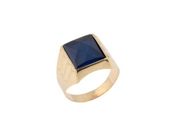Oferta de Sello oro primera ley (oro 18k con piedra) por 403,95€