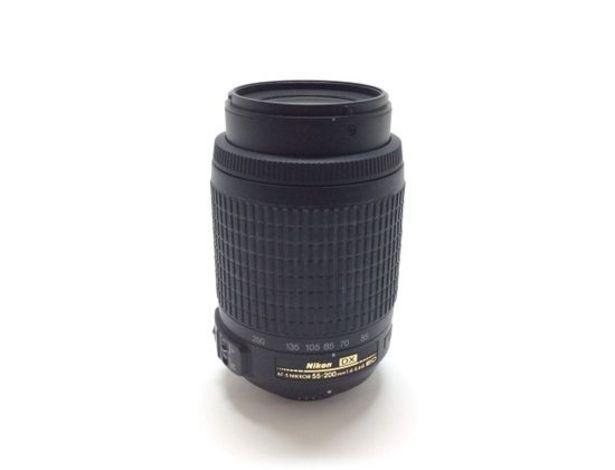 Oferta de Objetivo nikon nikon 55-300mm f/4.5-5.6g ed vr af-s dx zoom-nikkor por 137,95€