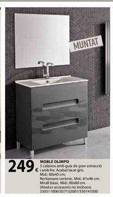 Oferta de Muebles de baño por 249€