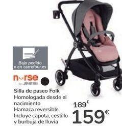 Oferta de Silla de paseo FOLK NURSE  por 159€