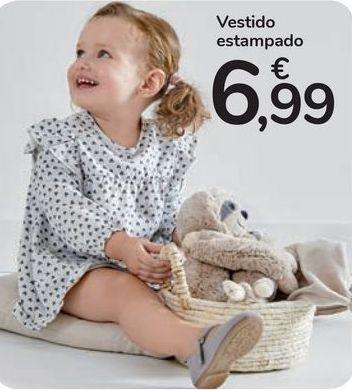 Oferta de Vestido estampado  por 6,99€