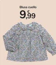 Oferta de Blusa cuello  por 9,99€