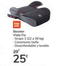 Oferta de Booster Vista Fix  por 25€