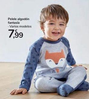 Oferta de Pelele algodón fantasía  por 7,99€