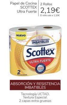 Oferta de Papel de cocina SCOTTEX Ultra Furte  por 2,19€