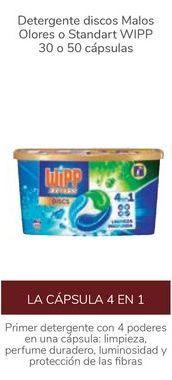 Oferta de Detergente disco Malos Olores o Standart WIPP por