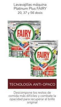 Oferta de Lavavajillas máquina Platinum Plus Fairy por
