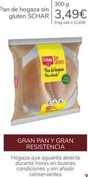 Oferta de Pan de hogaza sin gluten SCHAR por 3,49€