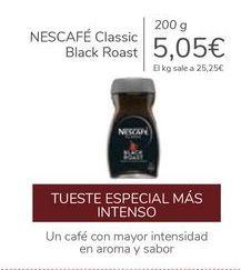 Oferta de NESCAFÉ Classic Black Roast por 5,05€