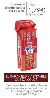 Oferta de Caramelo blanco sandia DIPPER XL por 1,79€