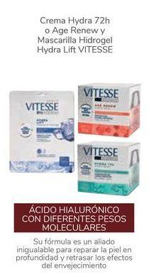 Oferta de Crema Hydra o Age Renew y Mascarilla Hidrogel Hydra Lift VITESSE  por