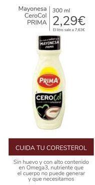 Oferta de Mayonesa CeroCol PRIMA por 2,29€