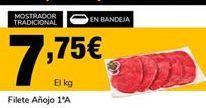 Oferta de Filetes de añojo por 7,75€
