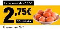 Oferta de Huevos clase M por 2,75€