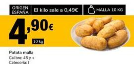 Oferta de Patatas por 4,9€